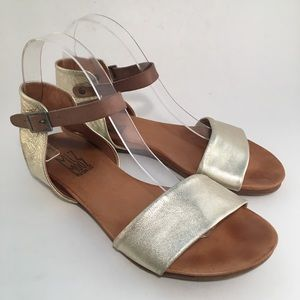 Miz Mooz Alanis Leather Ankle Strap Sandals